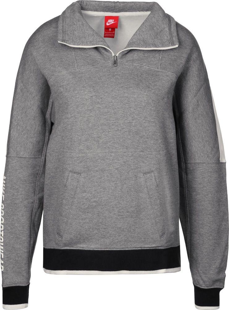Nike Sportswear Hoodie Damen Weiss Grau Grosse Xl In 2020 Nike Sportswear Nike Und Damen