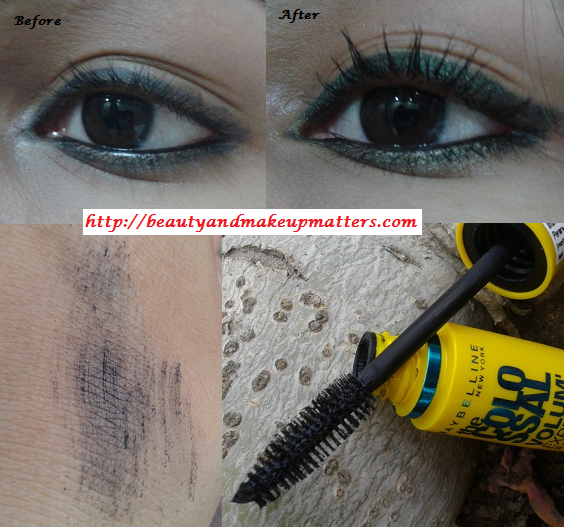9dad861605c Maybelline Colossal Volume Express Waterproof Mascara Review | Eye ...