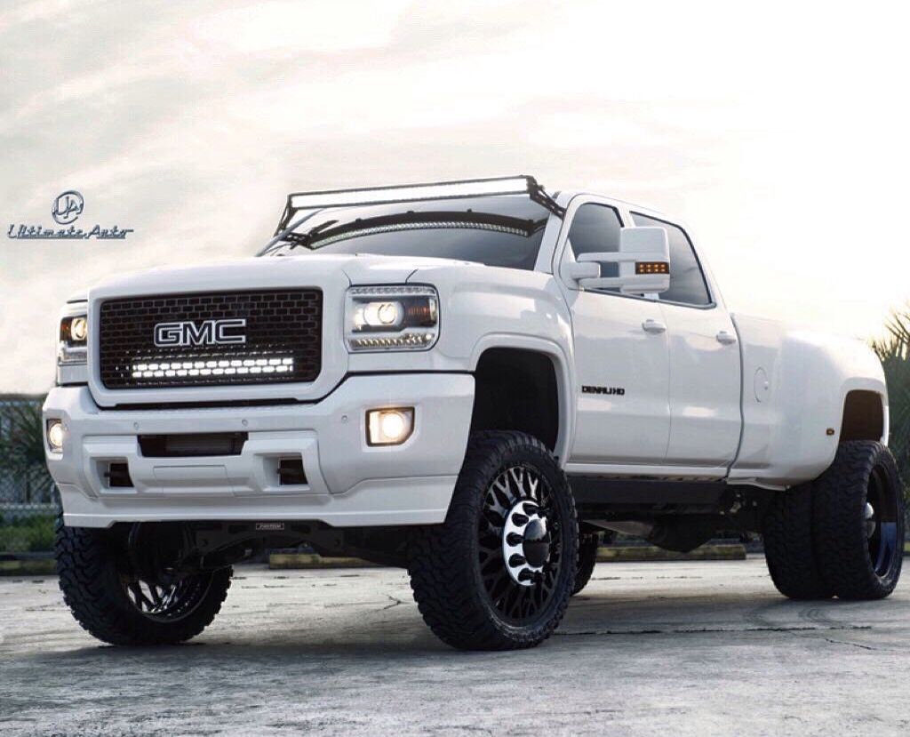 Gmc Denali Dually Lifted Jacked 4x4 Modified With