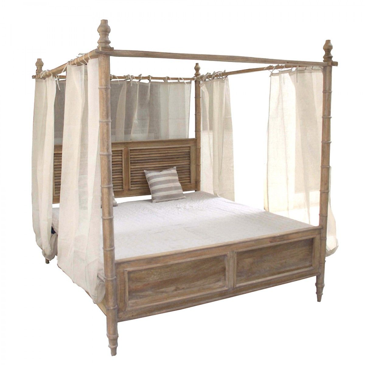 H&ton Queen Canopy Bed - Beds u0026 Bedheads - Bedroom  sc 1 st  Pinterest & Hampton Queen Canopy Bed - Beds u0026 Bedheads - Bedroom | Beds for ...