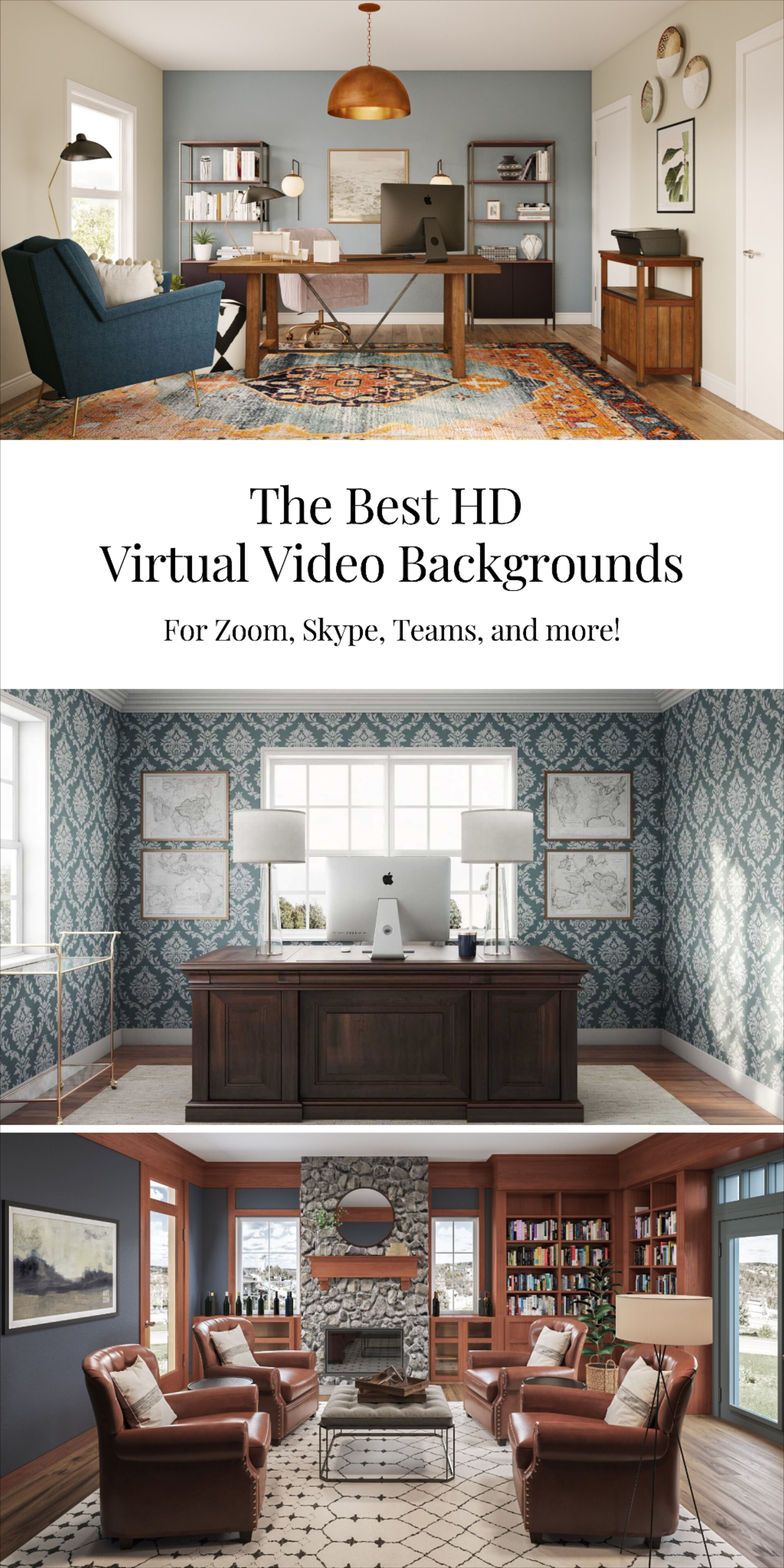 Virtual Backgrounds Zoom Backgrounds Teams Backgrounds Video Backgrounds Zoom Virtual Games Office Background Home Office Remodel