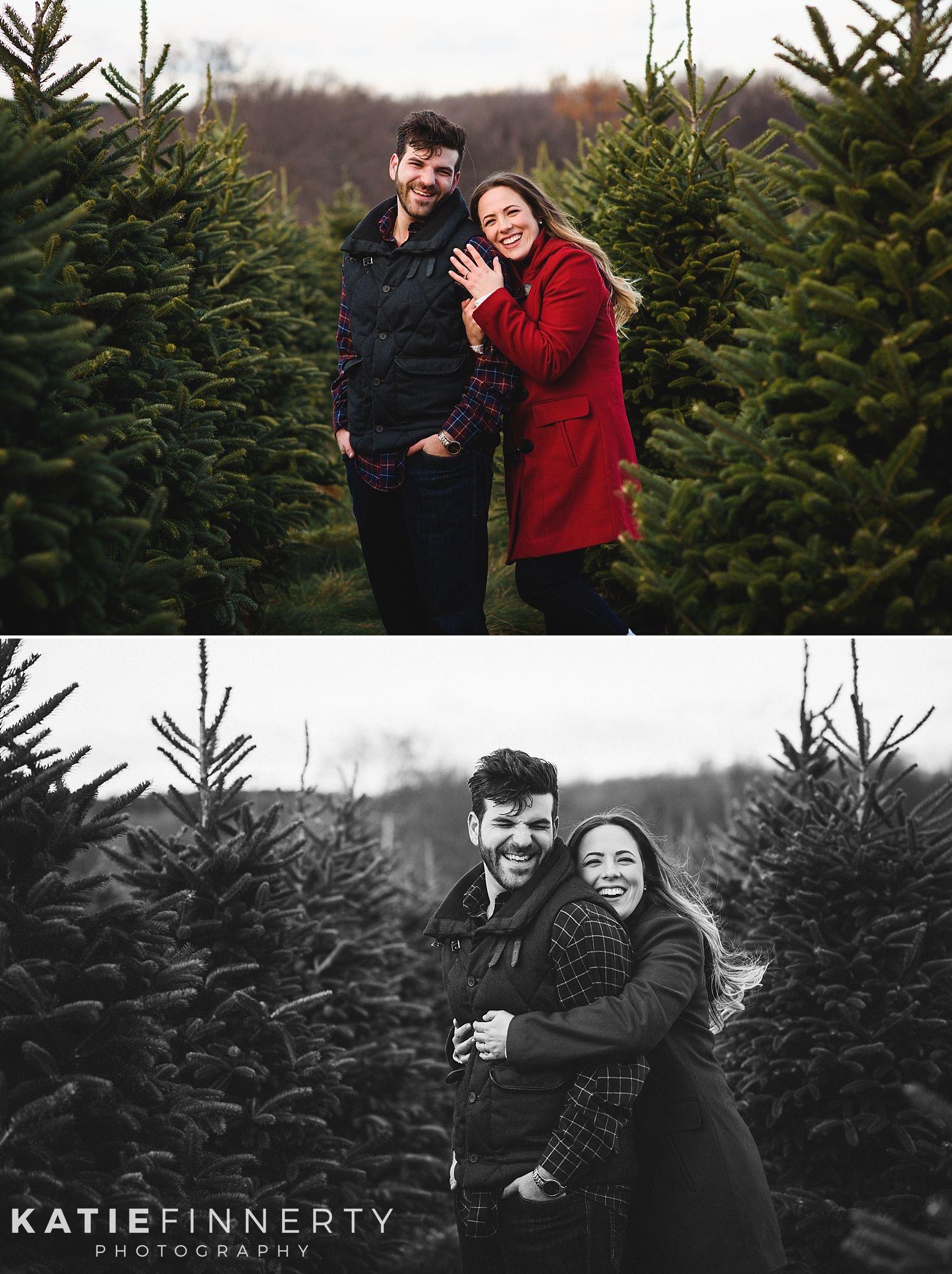Christmas Tree Farm Engagement Session Paulina Nick Buffalo Ny Wedding Portrait And Boudoir Photographer Buffalo Ny Wedding Ny Wedding Engagement Session