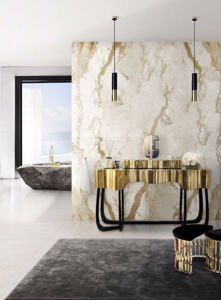 Glorreiche Hauptbadezimmer Fur Das Zeitgenossische Haus Mit Bildern Luxus Badezimmer Badezimmer Innenausstattung Dekor