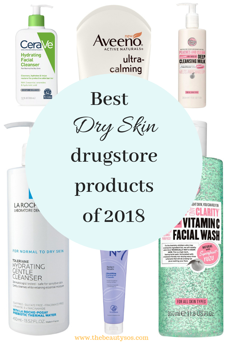 20 Dry Skin Products From The Drugstore The Beauty Sos Dry Skin Care Routine Dry Skin Care Skin Care Remedies Acne