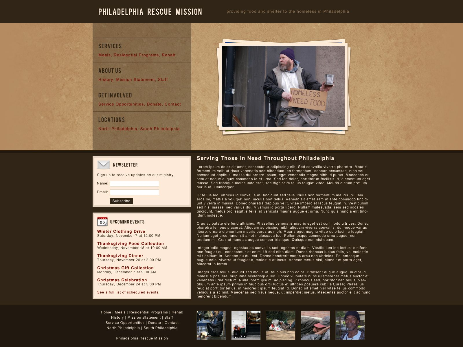 Tutorial for creating a non profit website layout in photoshop tutorial for creating a non profit website layout in photoshop baditri Images