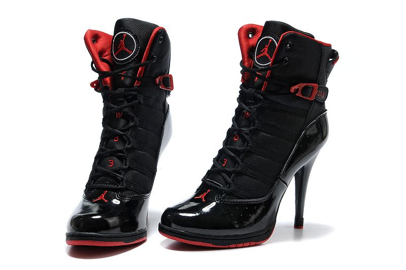 innovative design e8db4 27d4a Jordan High Heel Shoes   Women Jordan High-heel Boots Wajboots004