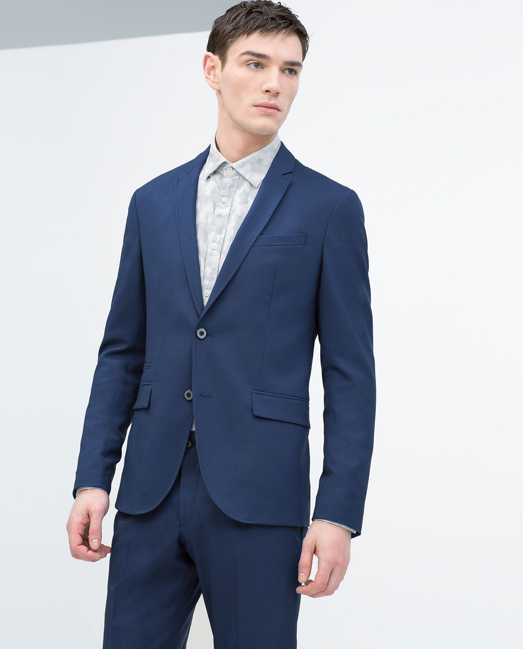 5ef70dce1cb ZARA - NEW THIS WEEK -   boyfriend   Deep blue suit, Blazer, Deep blue