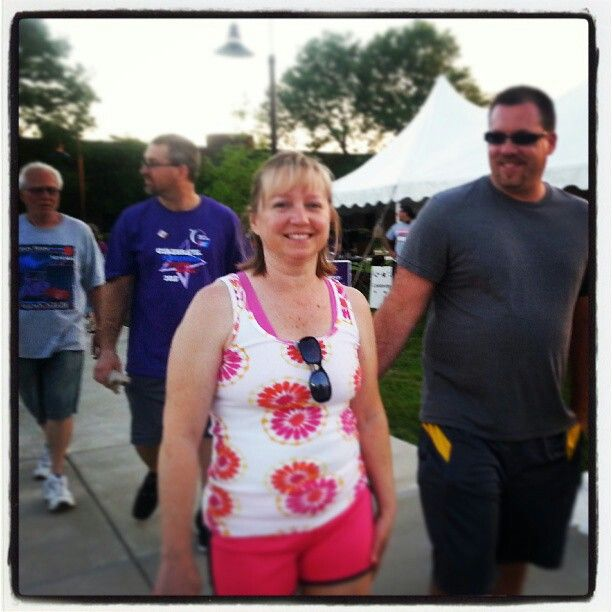 Relay for life  Special friends helping in supporting Jon Jamison