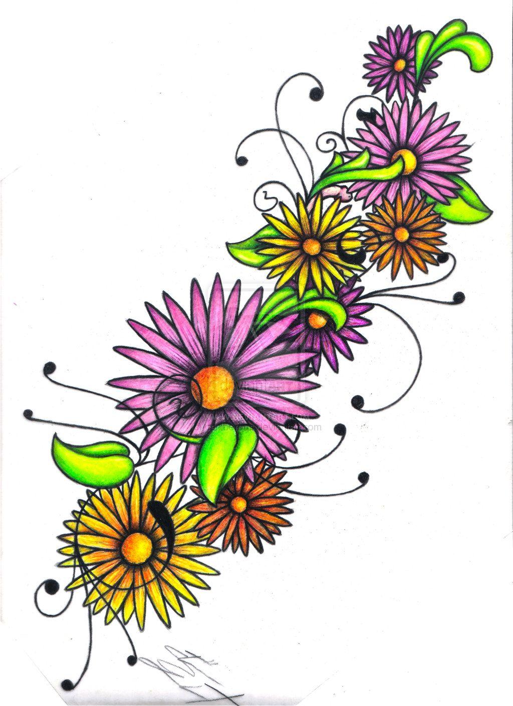 daisy chain tattoos Google Search Daisy tattoo, Tiny
