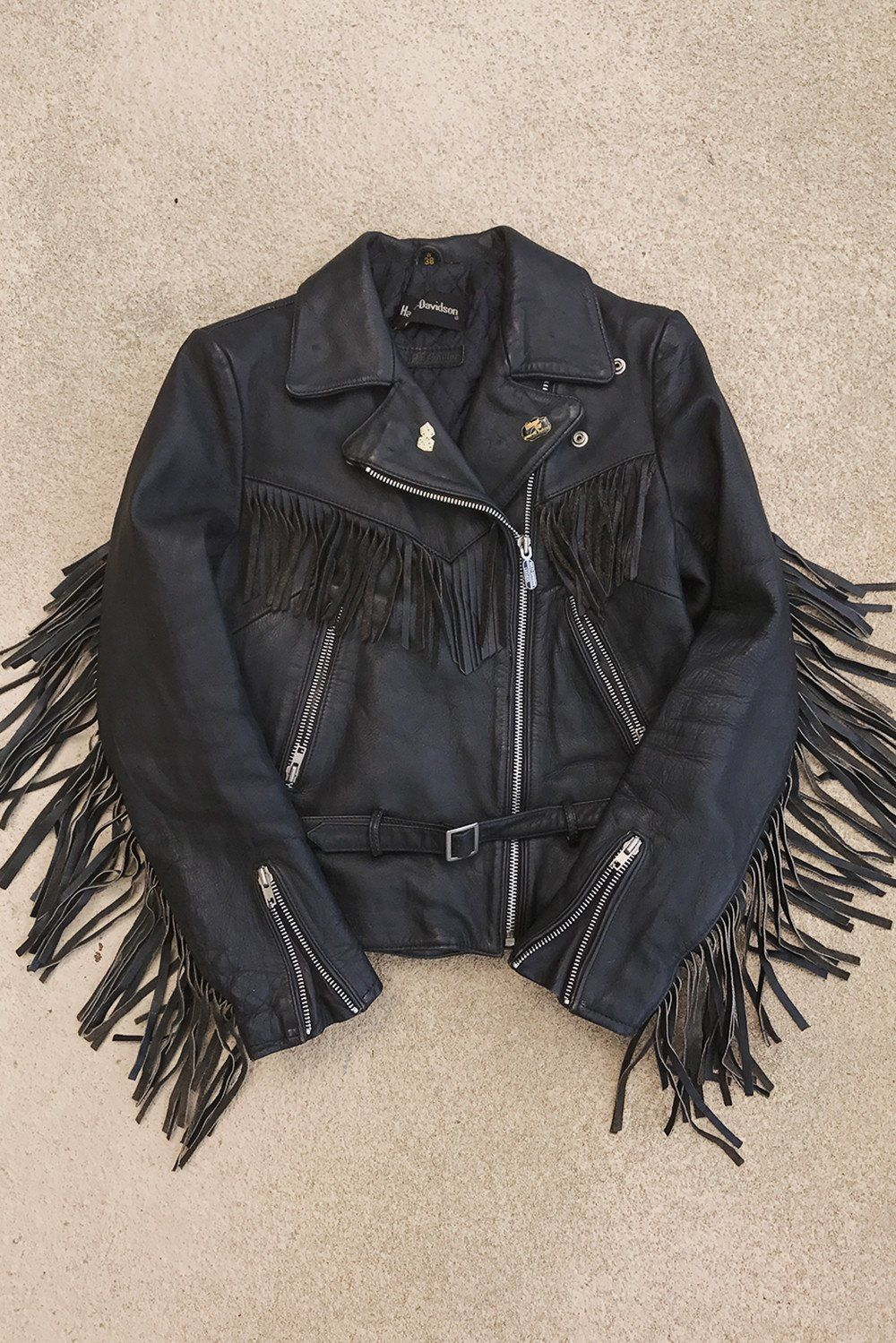Black Magic Super Fitted And Soft Harley Davidson Fringe Leather Jacket Fringe Leather Jacket Leather Jacket Jackets [ 1499 x 1000 Pixel ]