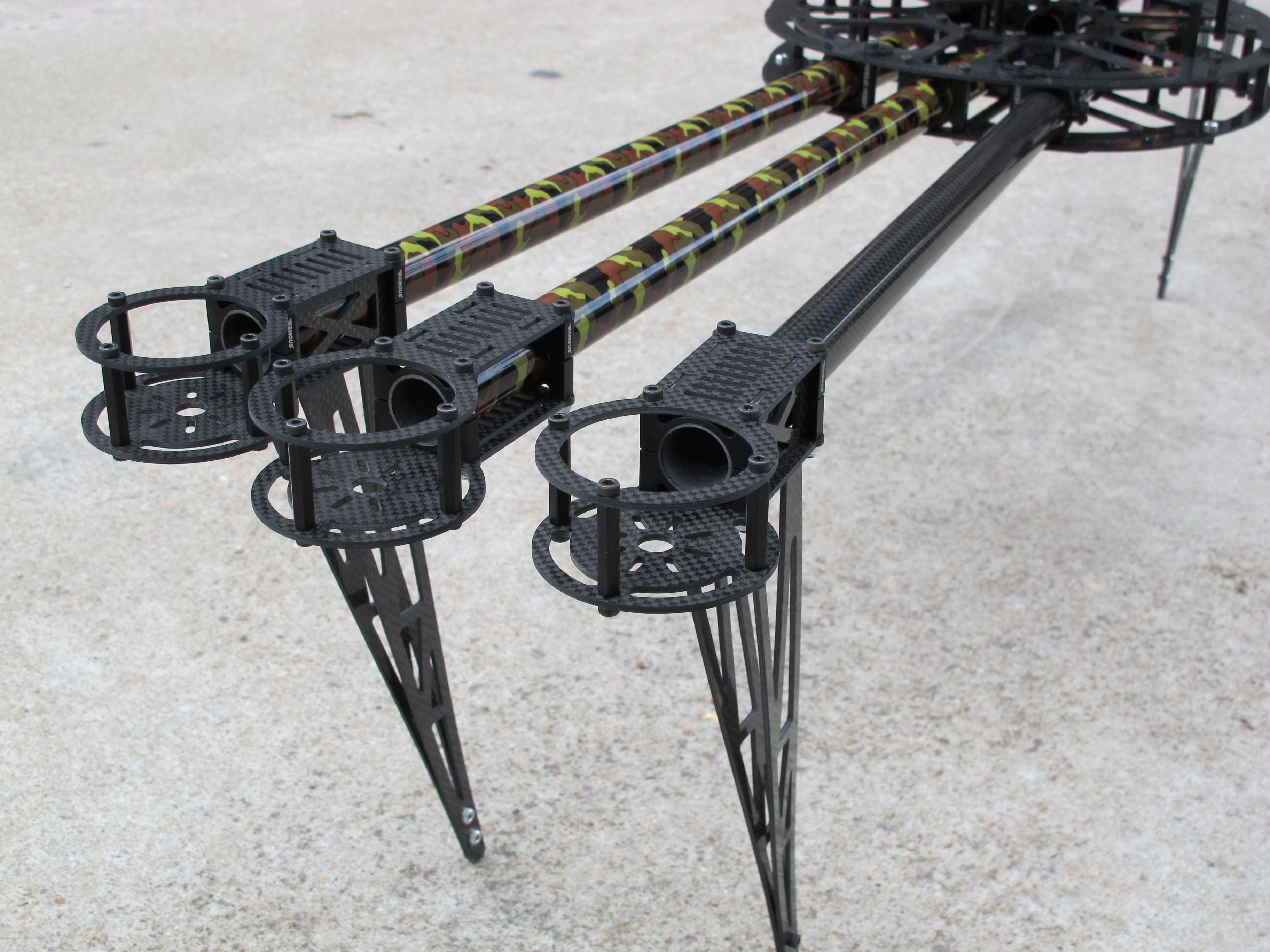 landing gear of M1000 hexacopter frame