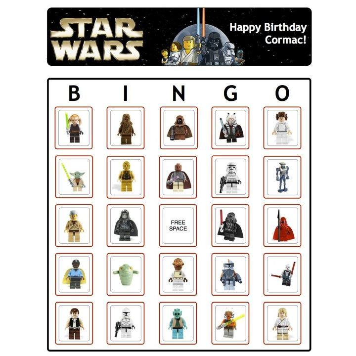 Lego star wars bingo lego star wars lego star unique