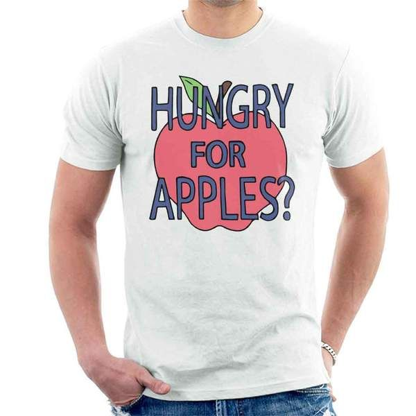 Hungry For Apples Rick And Morty Men's T-Shirt