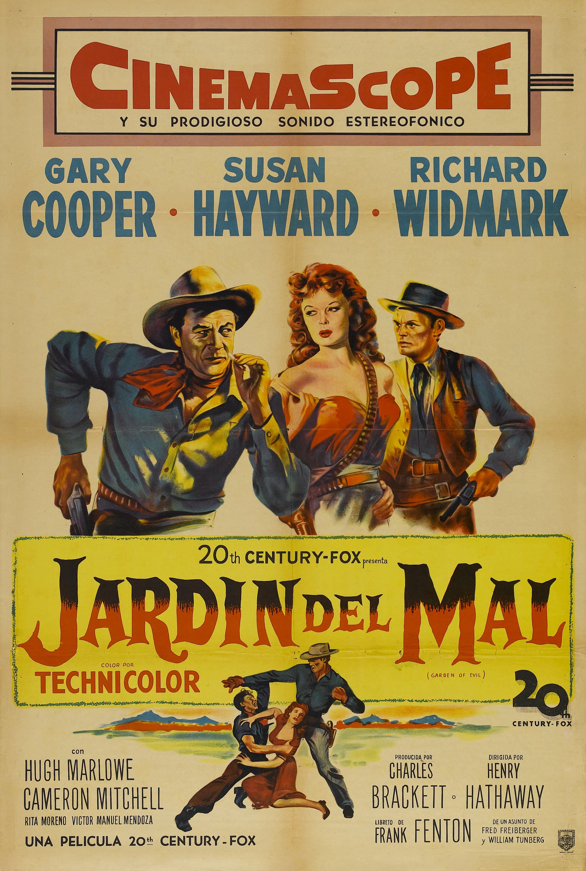 Garden of Evil - 1954 - Henry Hathaway   Cowboys and indians ...