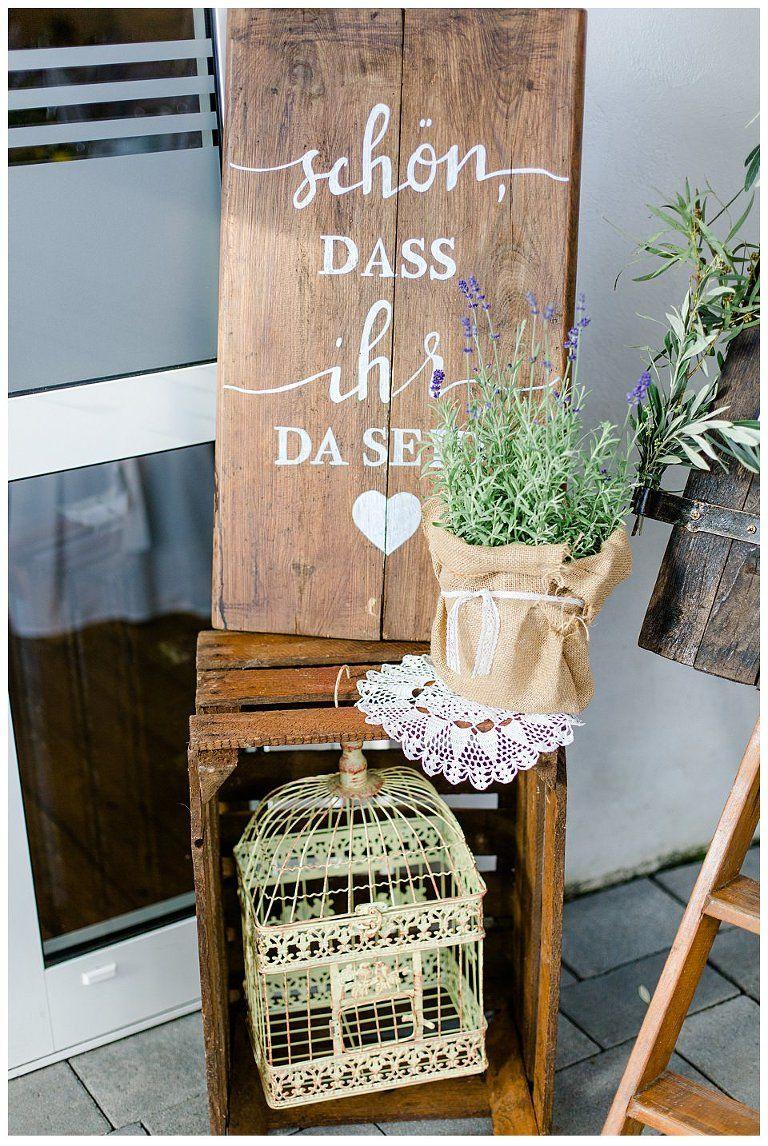 Hochzeitsdekoration | Willkommensschild DIY Hochzeit | Sommerhochzeit