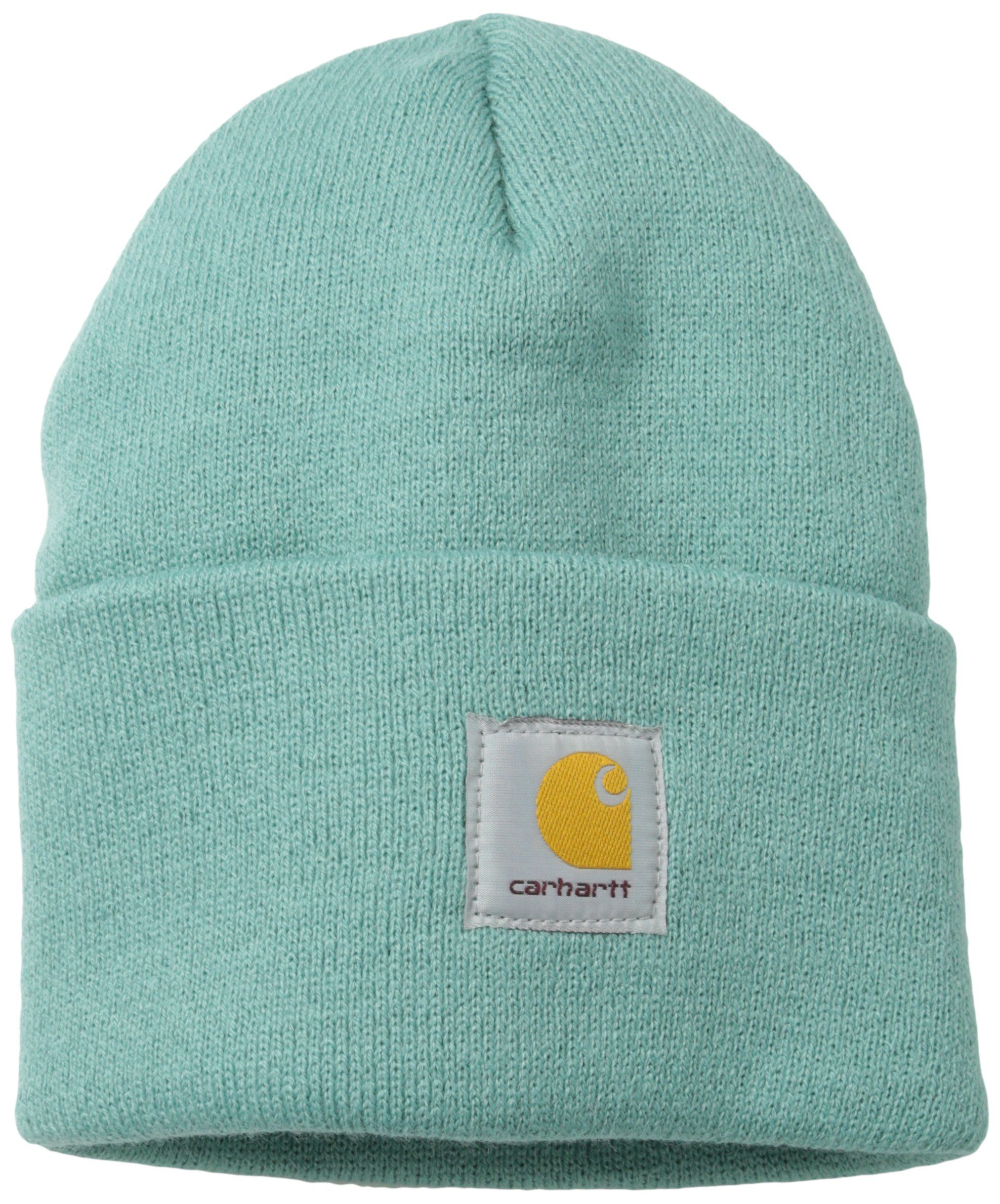 b3f3ddf6321749 Amazon.com: Carhartt Women's Knit Beanie Hat, Coastline, One Size: Clothing  $7.99