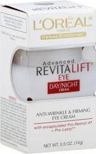 L'Oreal Advanced Revitalift Eye Day/Night Cream. Summer Morning & Evening Regiment.