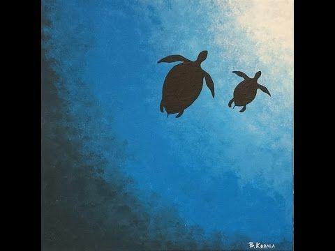 Simple Watercolor Underwater Scene Painting Tutorial