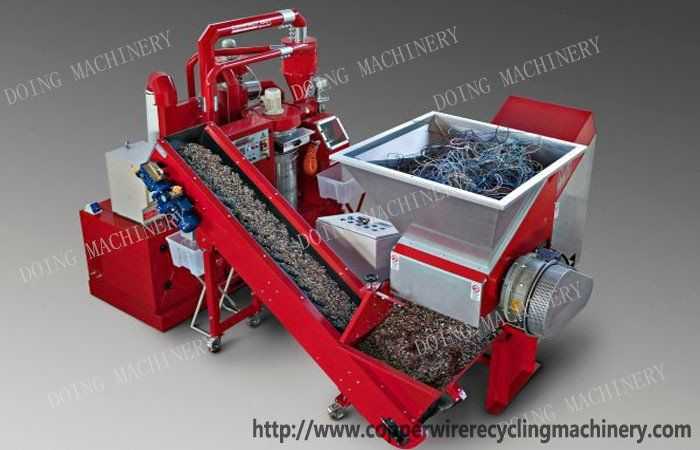 scrap copper granulator cable wire recycling machine | Copper wire ...