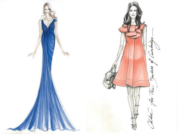 Simple Fashion Design Sketches Of Dresses 2014 2015 Fashion Dress Sketches Fashion Fashion Design