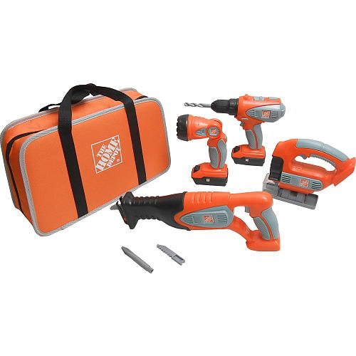 Home Depot Toys For Boys : The home depot deluxe power tool set toys r us quot