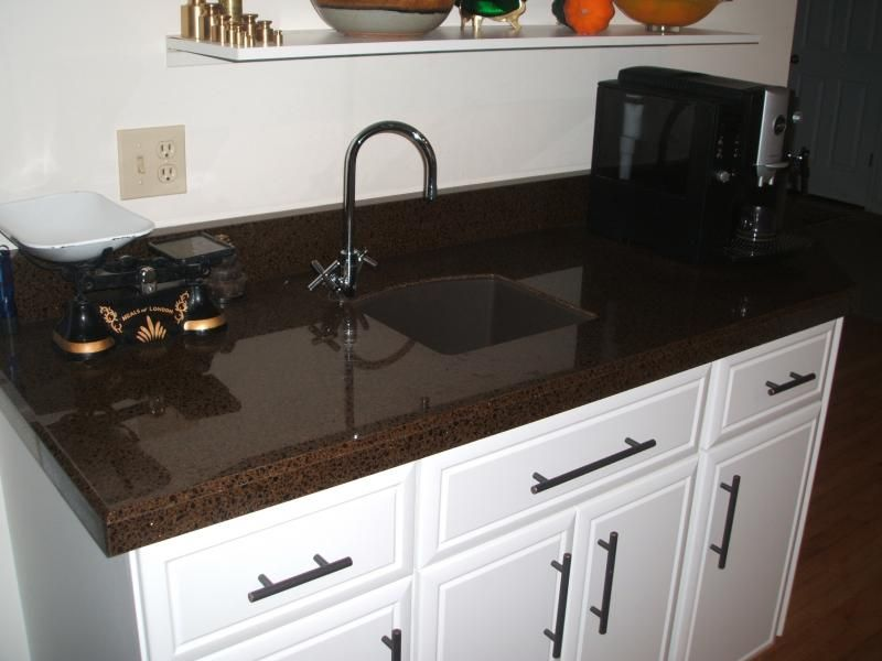 Granite Transformations Bar Install In Our Recycled Glass Color Vetro  Moretti.