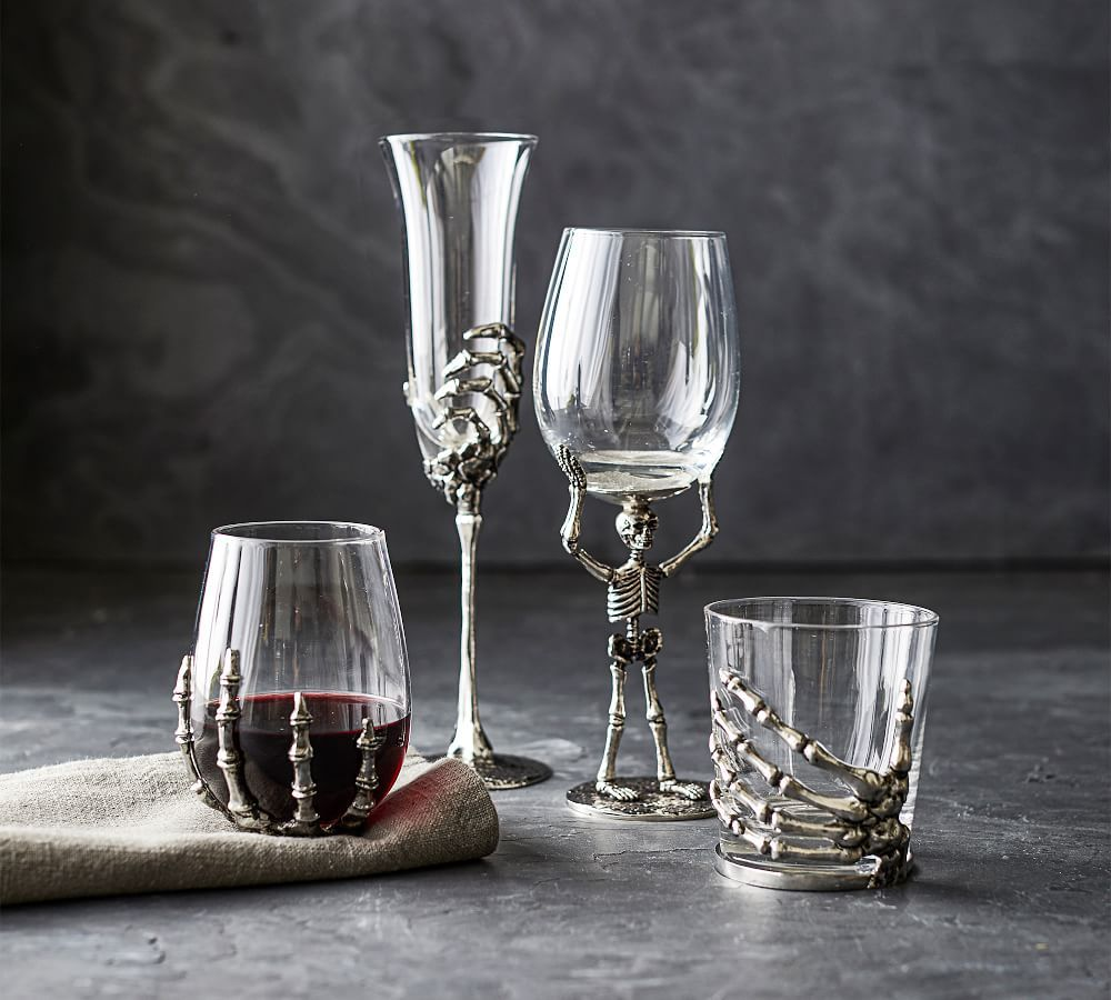 Skeleton Drinkware Collection Gifts for wine lovers