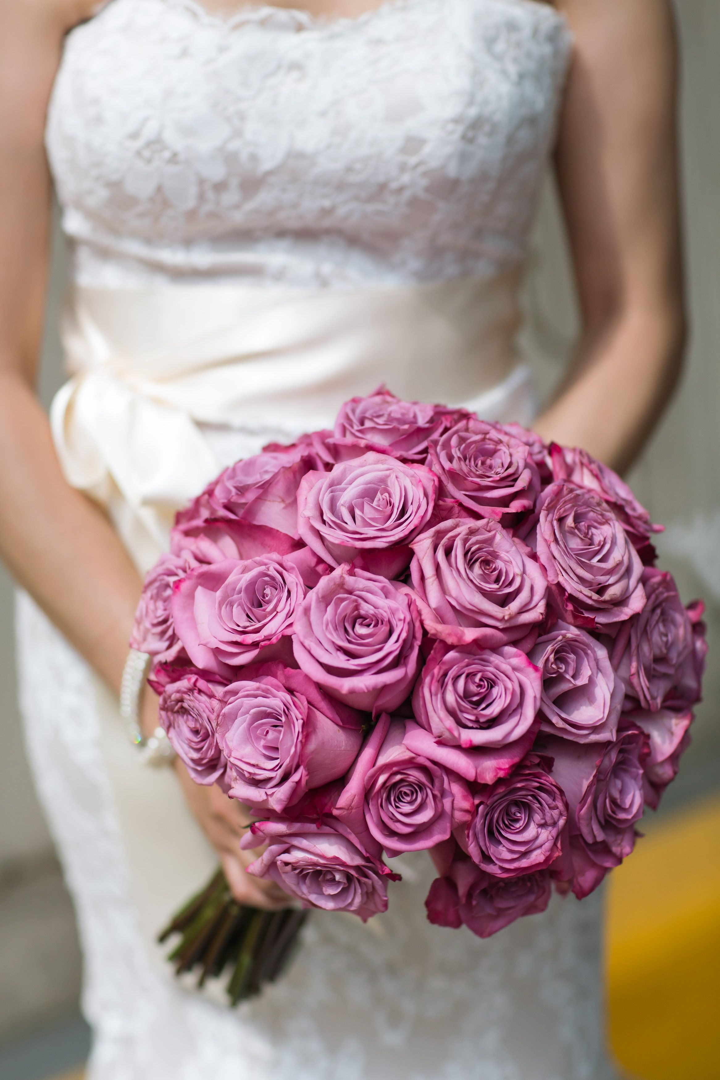Lavender rose bridal bouquet. Downton Abbey inspired wedding by ...