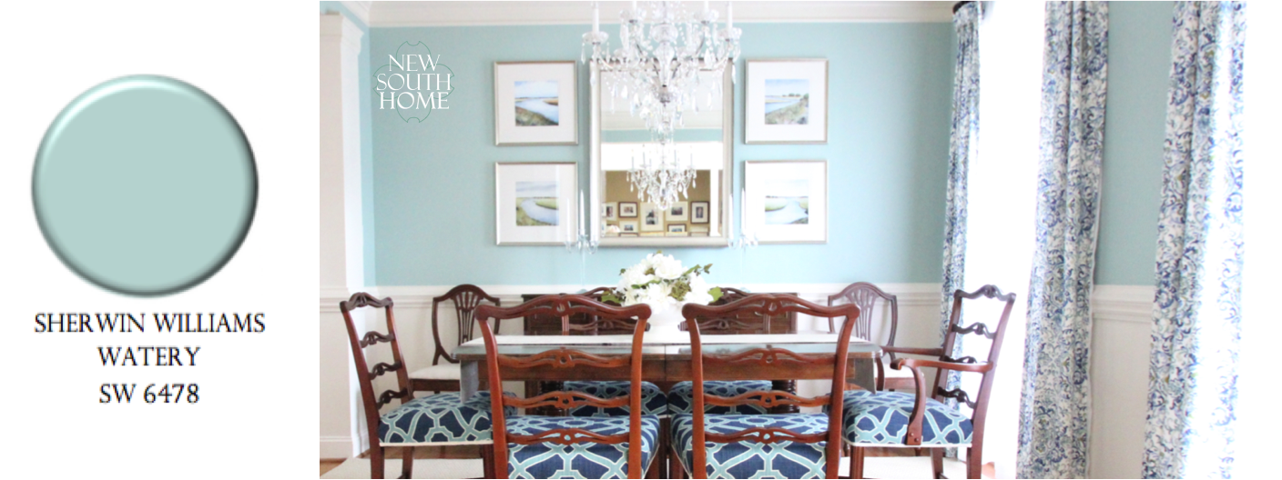 Favorite Spa Blue Paint Colors 2016 Navy Dining RoomsGreen