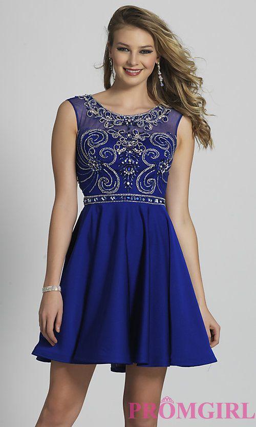 Sapphire Blue Graduation Dresses