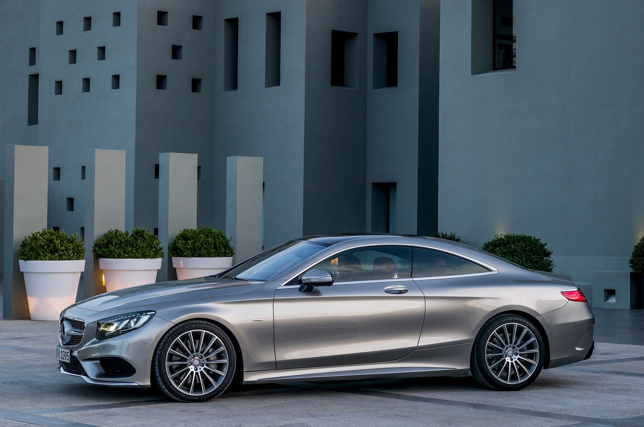 mercedes coupe 2015 | 2015 Mercedes Benz S Class Coupe Side Front ...