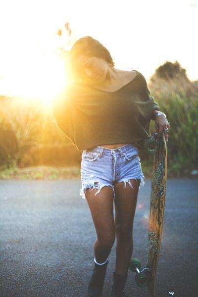 longboard, style, fashion, street