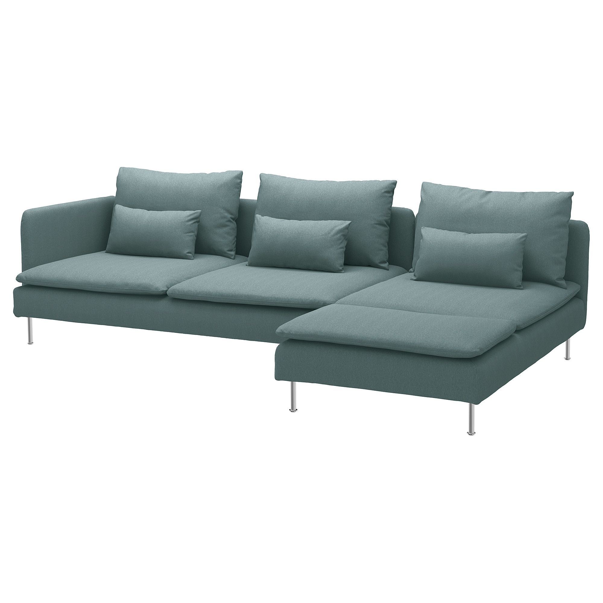 Soderhamn Sectional 4 Seat With Chaise And Open End Finnsta