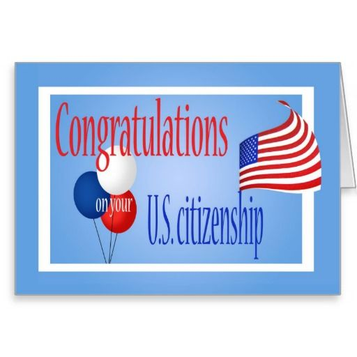 congratulations us citizenship us flag card citizenship flags
