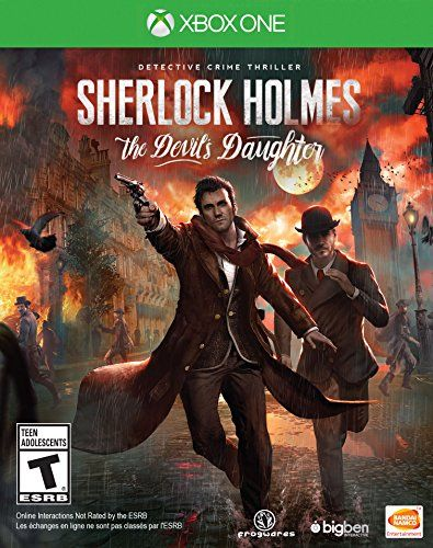 Sherlock Holmes The Devils Daughter Xbox One *** Click image