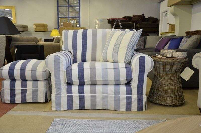 Armchairs : PADSTOW Snuggler Armchair and Footstool in ...
