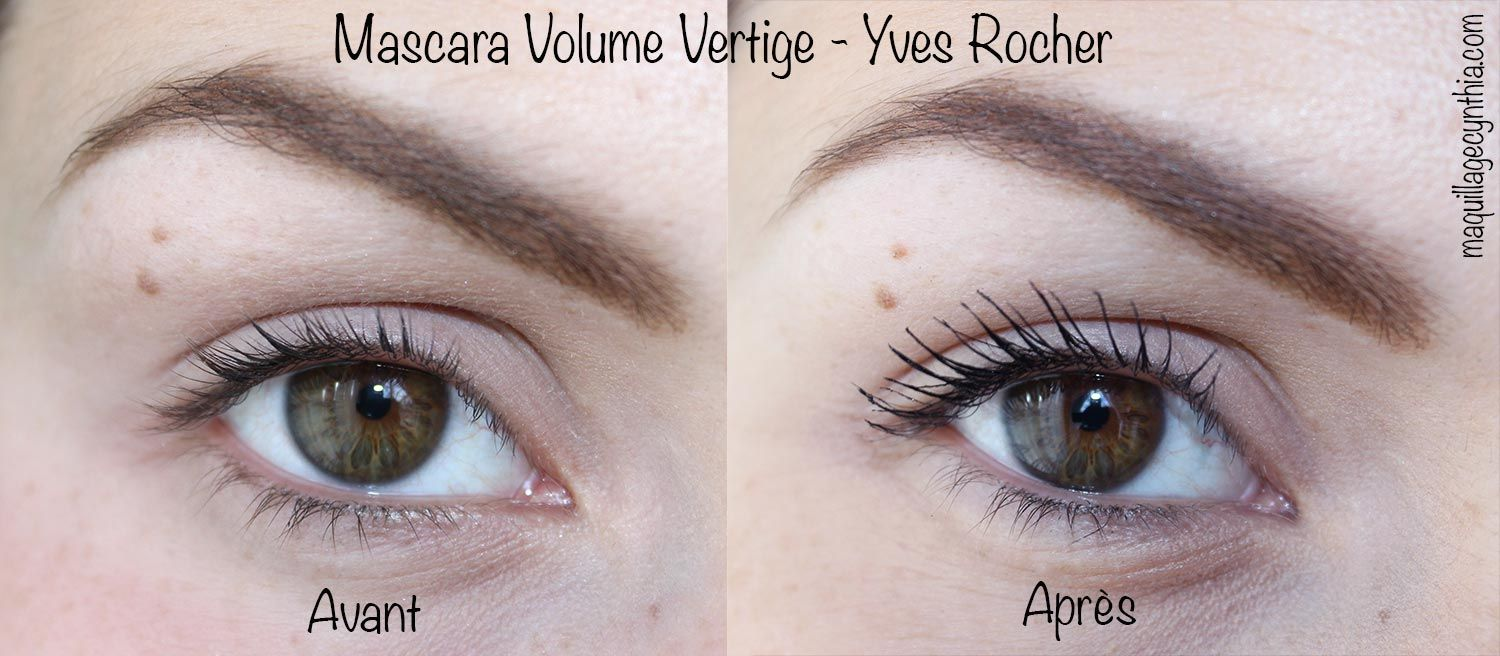 Exceptionnel Nouveau ! Mascara Volume Vertige d'Yves Rocher - review : http  BS64