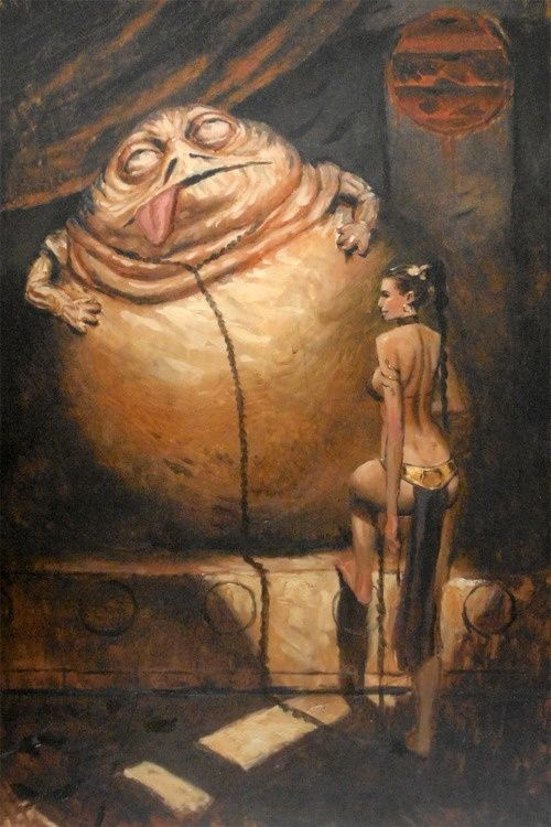 Jabba The Hut Slave