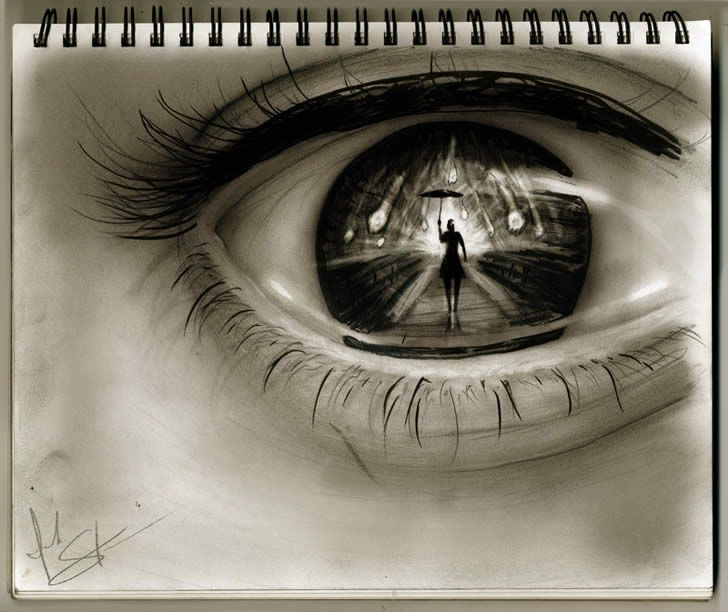 something in your eyes yeux pinterest eye illusions illusions