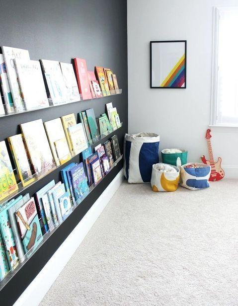 Rangement livres enfants : nos idées pour ranger des livres pour enfants facilement - Elle Décoration