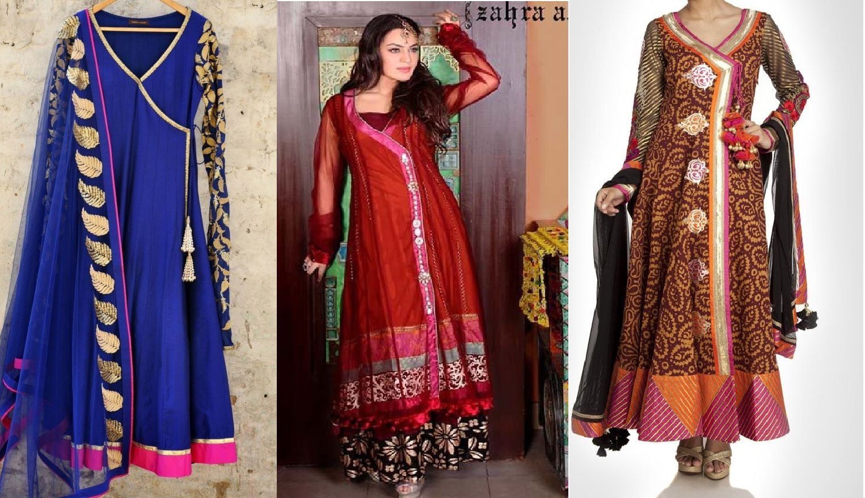 Latest angrakha style dresses tina pinterest latest