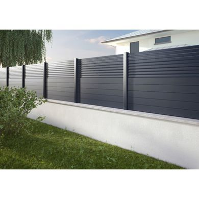 Pack Poteaux En Aluminium Pour Cloture Dolomite Sicile En 2020 Amenagement Jardin Cloture Amenagement Jardin Terrasse Piscine Cloture Maison