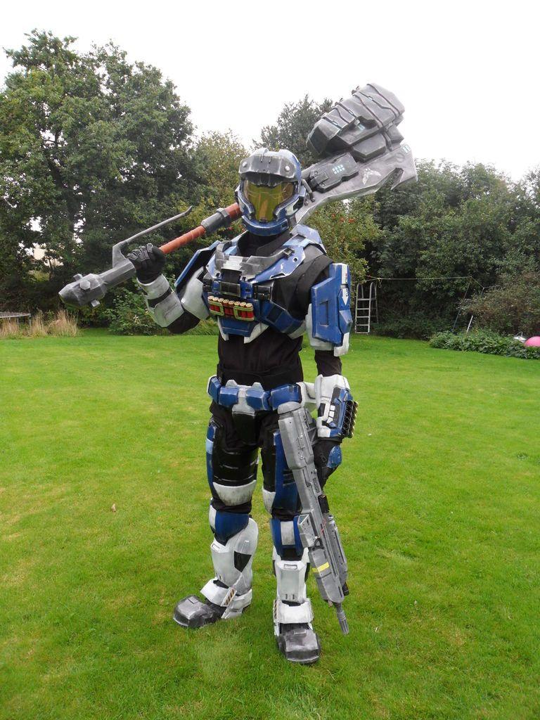 Mjolnir Mk. V (Pepakura Halo Armour) | Halo armor, Cosplay and ...