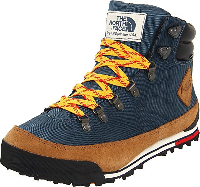 The North Face Back To Berkeley Boot Men 39 S Conquer Blue X2f Bronx Brown 11 0 Hiking Boots Boots Brown Hiking Boots