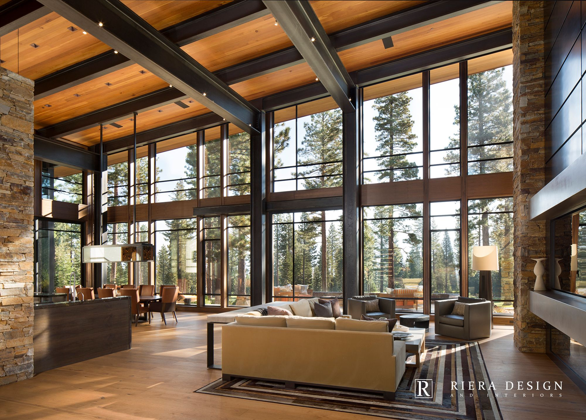 Lake Tahoe Martis Camp Mountain Modern Interior Design