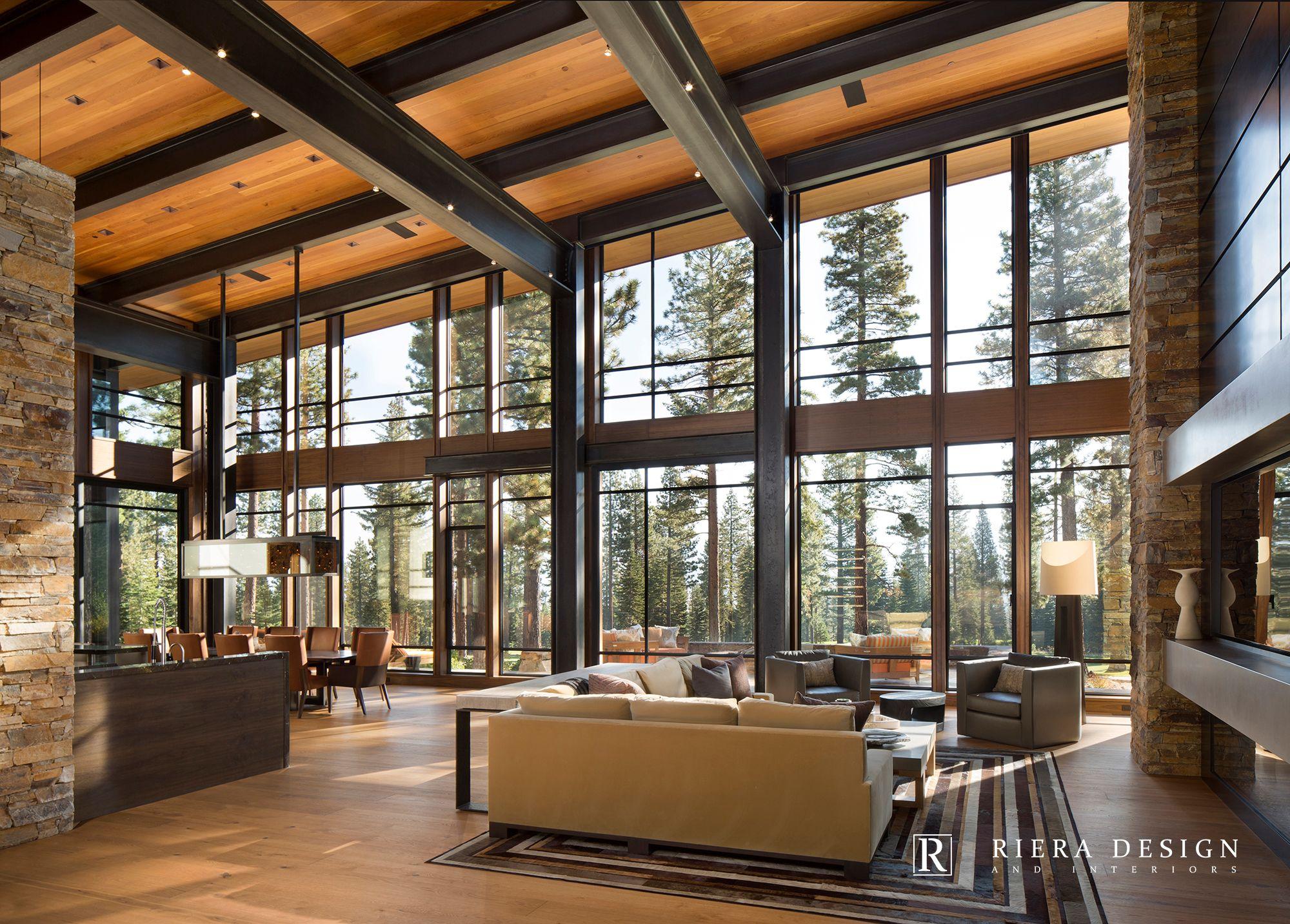 Lake Tahoe Martis Camp Mountain Modern Interior Design Project Lake Tahoe Interior Design