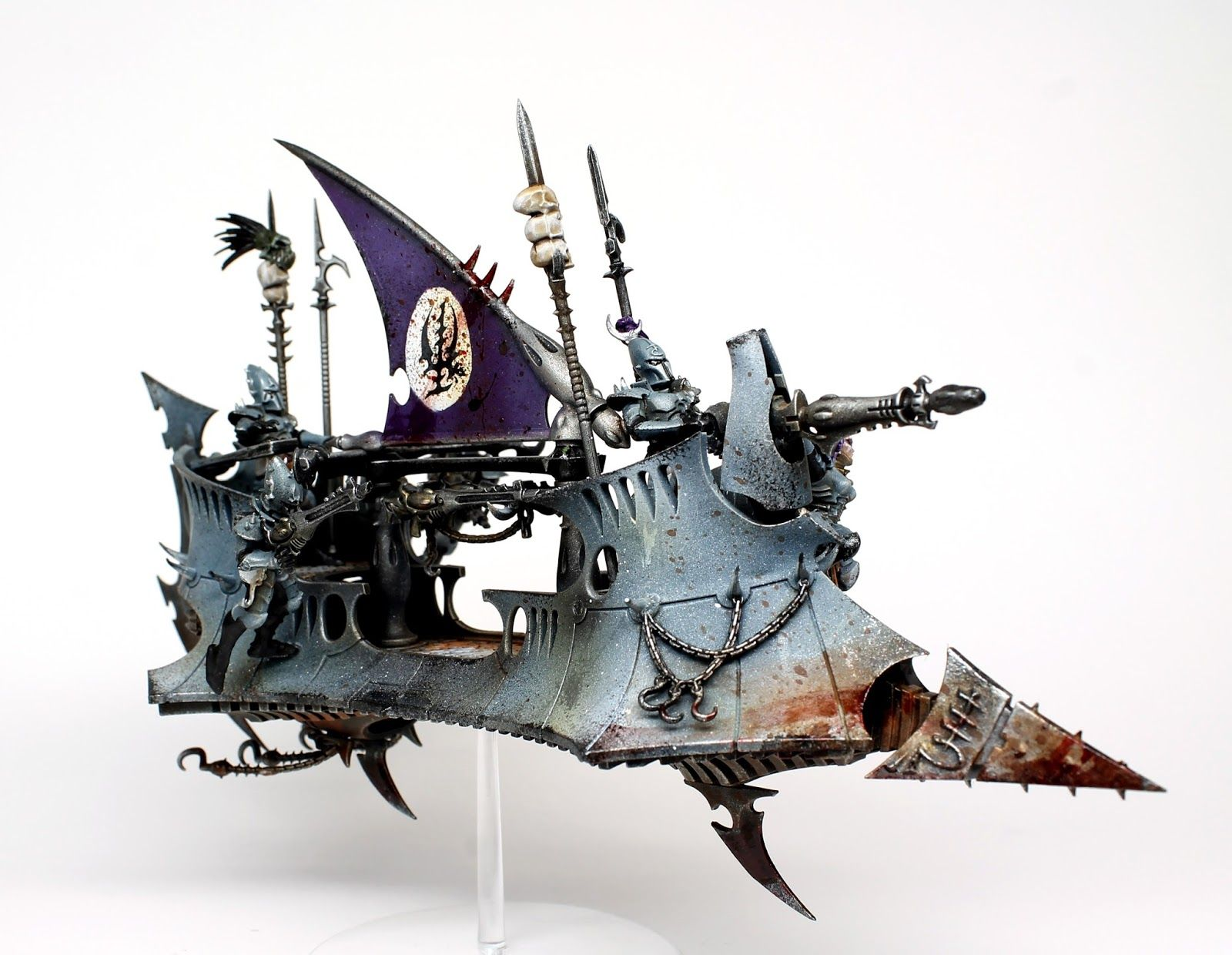 Hey Guys ThirdEyeNuke Here With A Showcase Of Dark Eldar Raider That Is Part