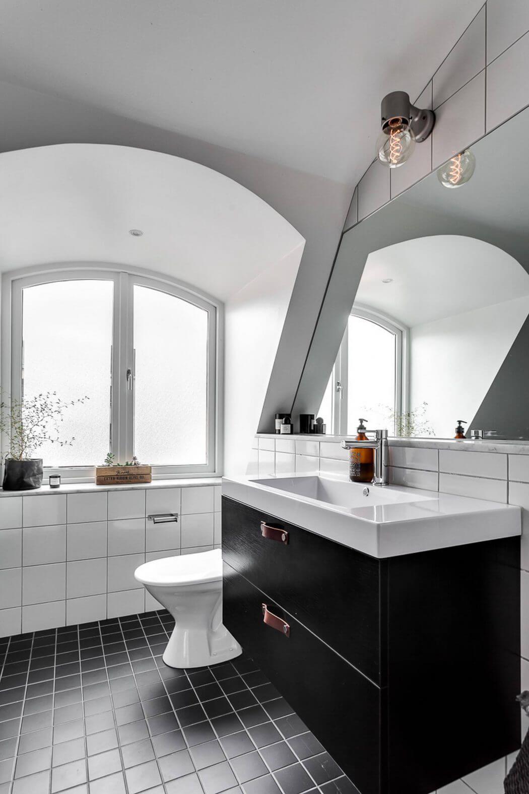 Bad ideen halbbäder frejgatan apartment by designfolder  bad  pinterest