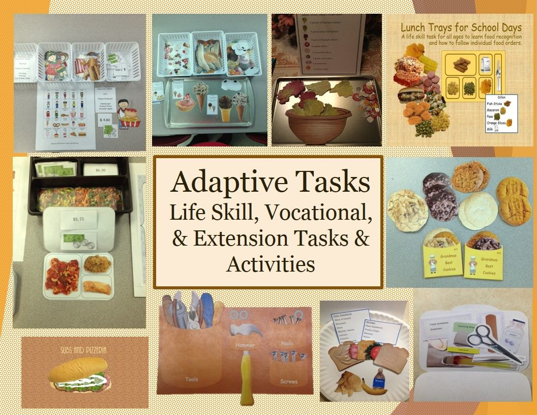 Your Store For Life Skill Vocational And Extension Activities And Tasks Slp