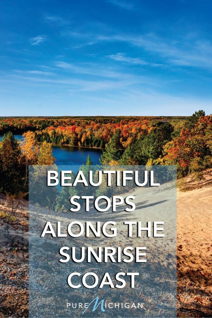 23 Beautiful Stops For A Road Trip Through The Sunrise Coast Michigan Road Trip Michigan Travel Trip